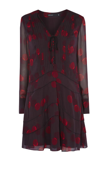 Karen Millen, GEO-PRINT SHIRT DRESS Multicolour 0