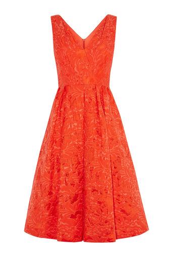 Karen Millen, DEVORE PROM DRESS Orange 0