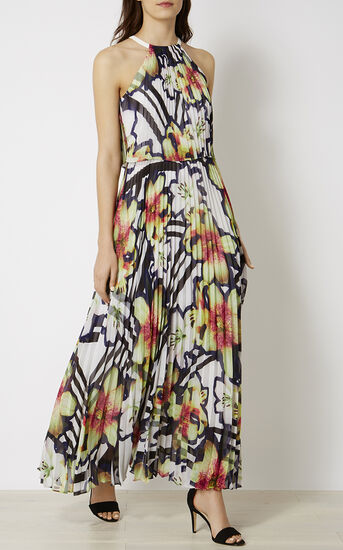 Karen Millen, PRINTED MAXI DRESS Multicolour 2