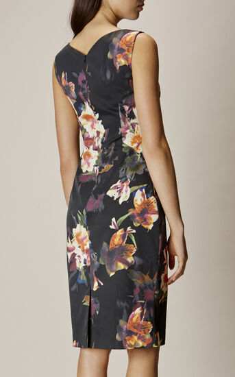 Karen Millen, ORCHID DRESS Multicolour 3