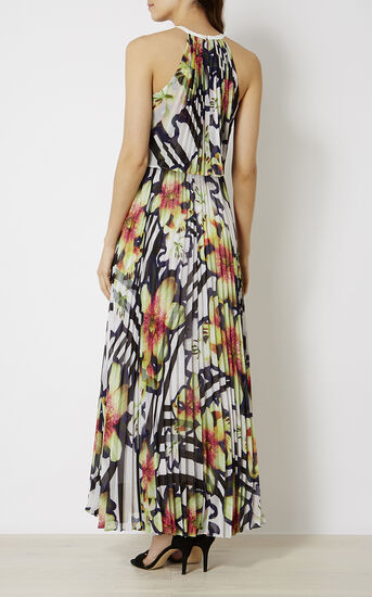 Karen Millen, PRINTED MAXI DRESS Multicolour 3