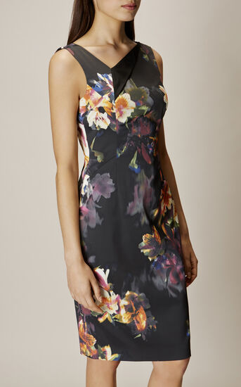 Karen Millen, ORCHID DRESS Multicolour 2