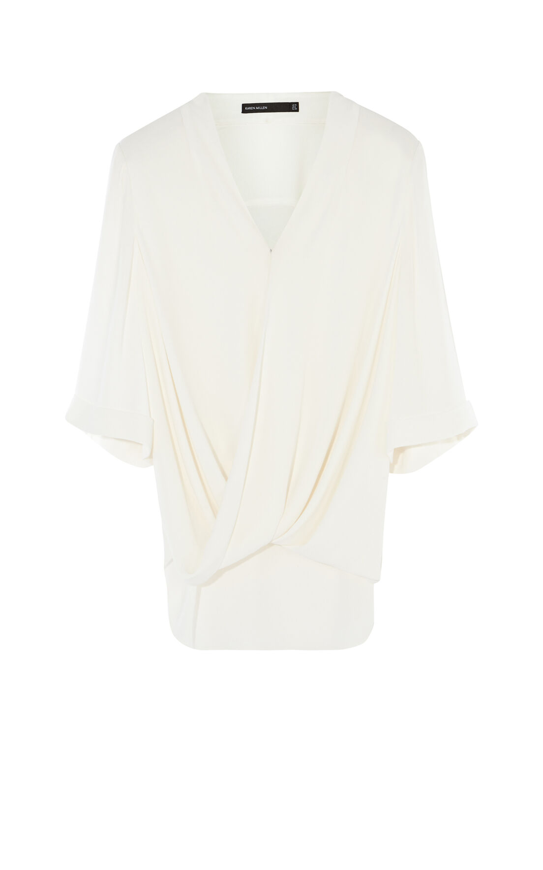 Karen Millen, WRAP TOP White 0