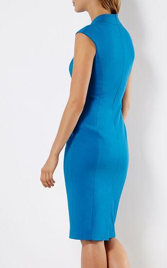Karen Millen, BLUE PENCIL DRESS Blue 3
