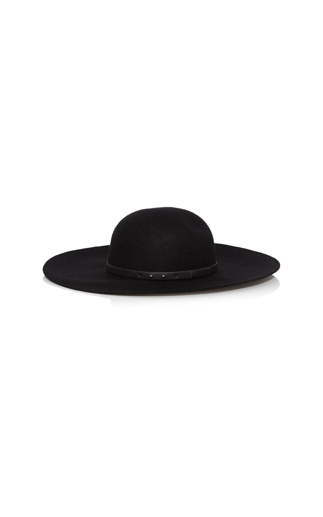 Karen Millen, 70's floppy hat Black 0
