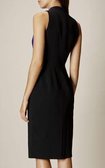Karen Millen, DEBONAIRE DRESS Black/Multi 3