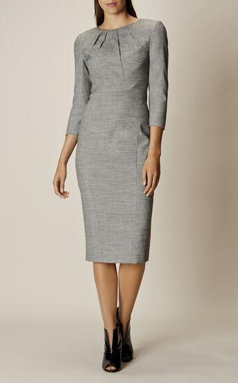 Karen Millen, TAILORED DRESS Grey 1