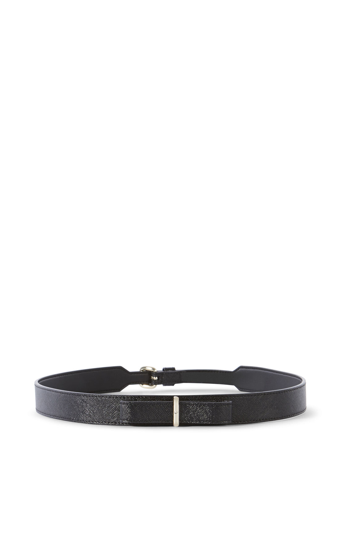 Karen Millen, LEATHER BOW WAIST BELT Black 0