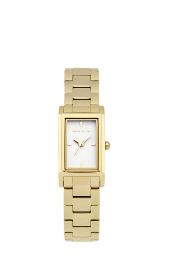 Karen Millen, Rectangle Face Metal Gold Colour 0
