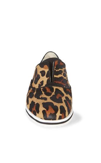 Karen Millen, LEOPARD SLIP ON TRAINER Leopard Print 2