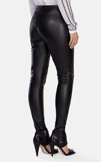 Karen Millen, Leather Look Legging Black 3