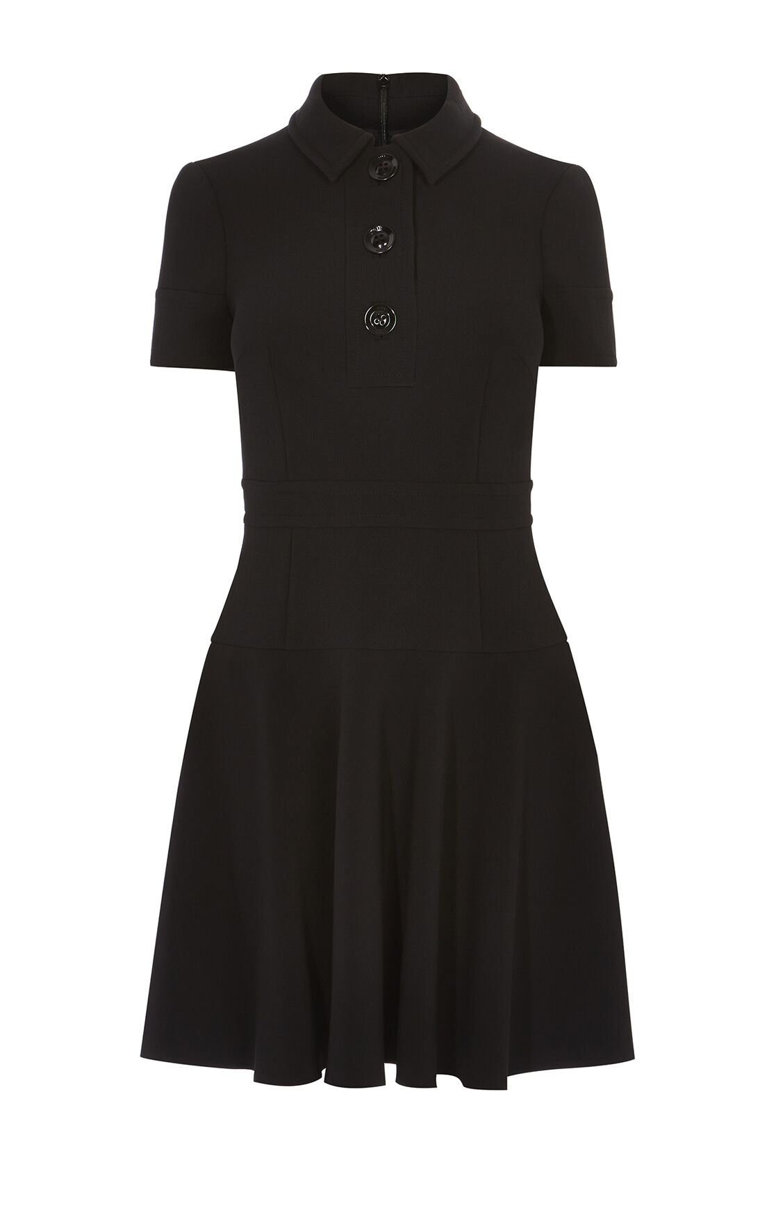 Karen Millen, POLO DRESS Black 0