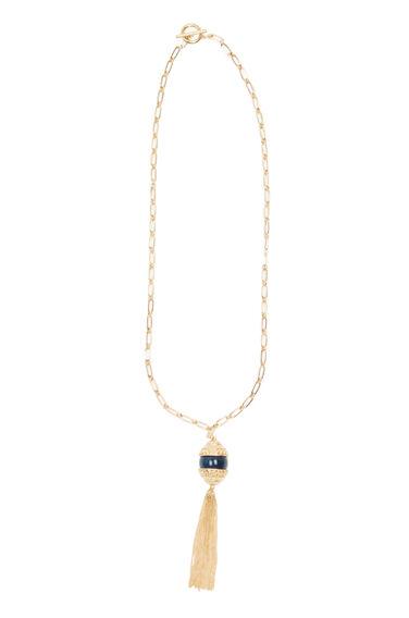 Ball Tassel Pendant Necklace