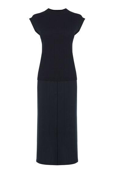 HYBRID SHIRT DRESS