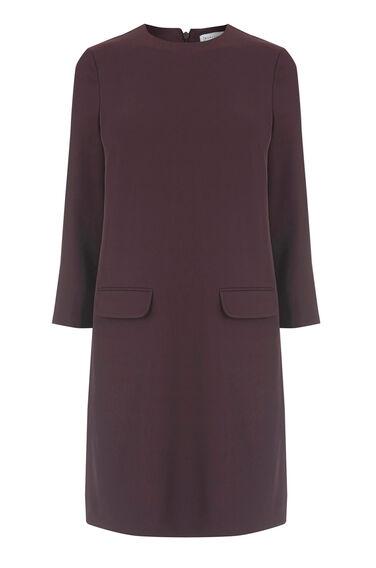 POCKET FRONT SHIFT DRESS