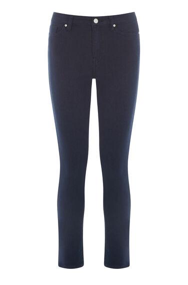 Crop Skinny Cut Jeans