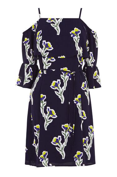 IRIS COLD SHOULDER DRESS