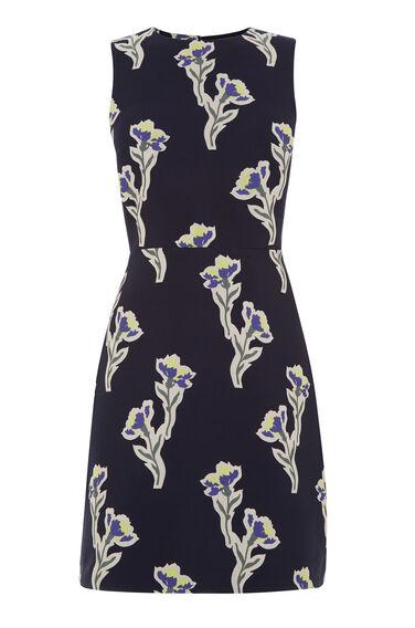 IRIS JACQUARD DRESS