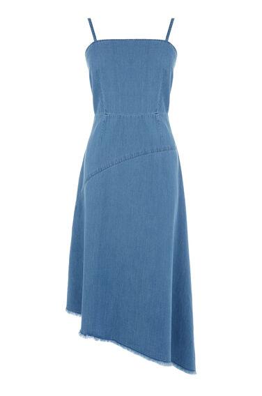 Asymmetric Drapey Dress