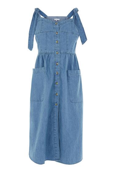 Tie Strap Pocket Dress