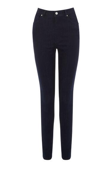 High Waist Skinny Cut Jeans