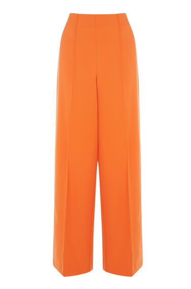 PINTUCK WIDE LEG TROUSERS