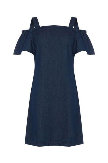 Cut Out Angel Sleeve Dress