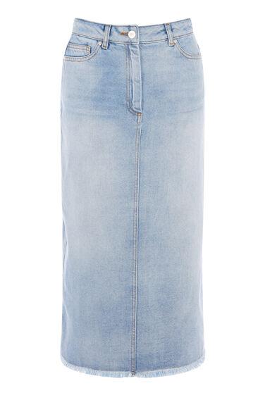 Bleached Maxi Skirt