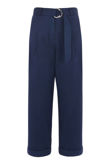 PLEATED CASUAL TROUSERS