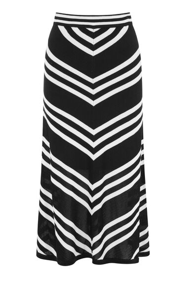 MONO CHEVRON SKIRT
