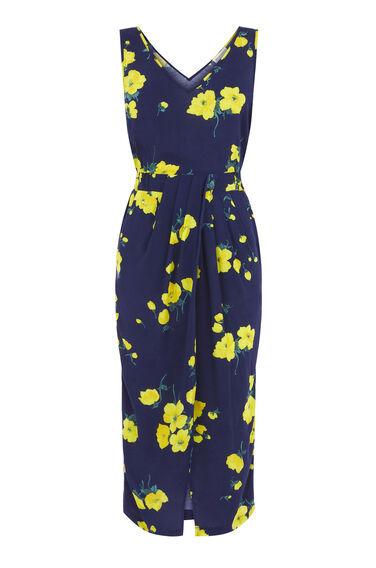 DELIA FLOWER SLEEVELESS DRESS