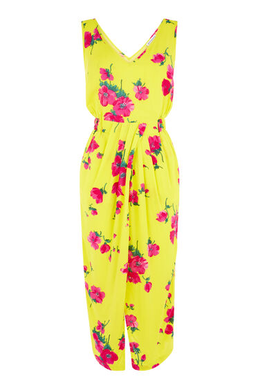 DELIA FLOWER SLEEVELESS DRESS