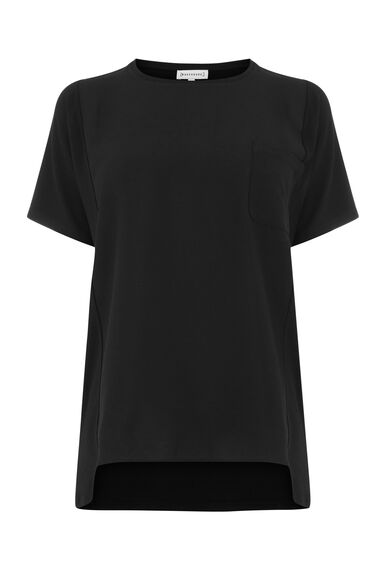 SMART WOVEN MIX POCKET TEE