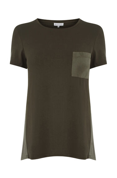 CUPRO MIX POCKET TEE