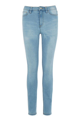 Warehouse, Bleached Powerhold Skinny Cut Bleach Denim 0