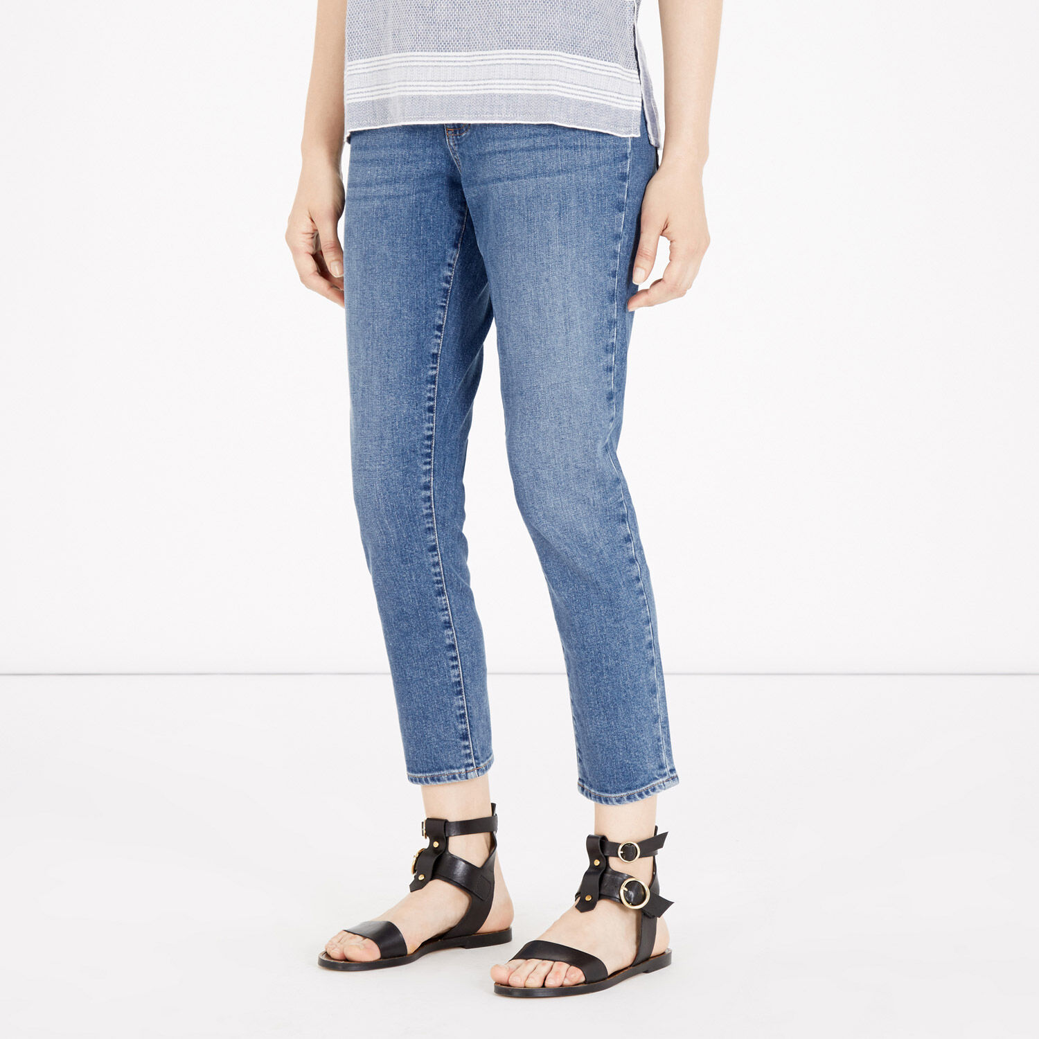 Warehouse, Relaxed Jean Light Wash Denim 1