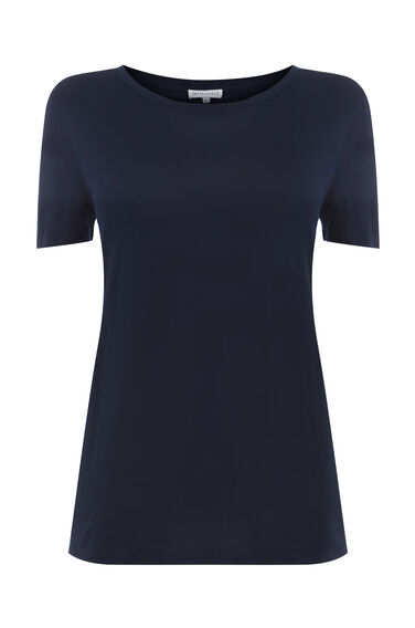 Warehouse, SMART T-SHIRT Navy 0