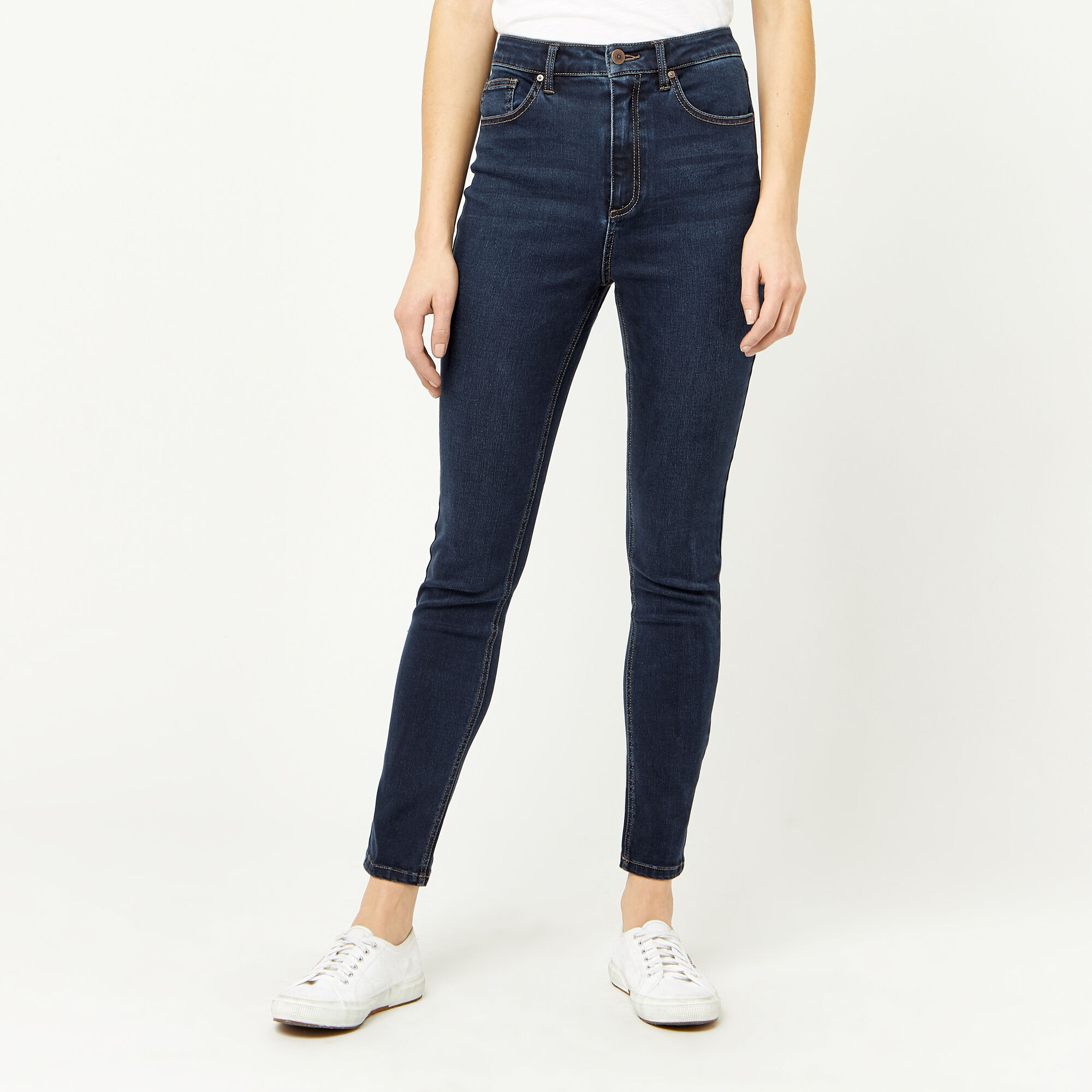 POWERHOLD HIGH RISE SKINNY CUT JEANS | Warehouse