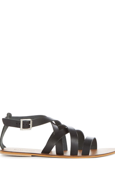 Warehouse, GLADIATOR SANDAL Black 0