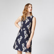 Warehouse, IRIS JACQUARD DRESS Multi 1