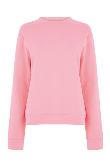 Warehouse, CLASSIC SWEAT Bright Pink 0