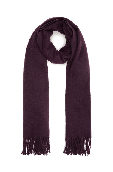 Warehouse, Boucle Scarf Berry 0