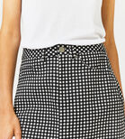 Warehouse, GINGHAM SKIRT Black Pattern 4