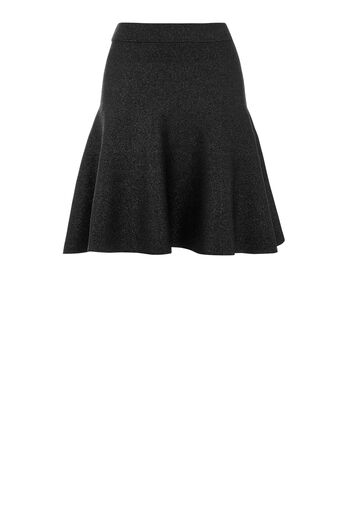 Warehouse, SPARKLE MINI SKIRT Black 0