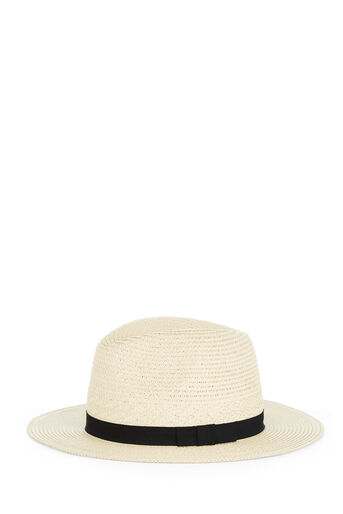 Warehouse, PANAMA HAT Beige 0