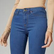 Warehouse, Ultra Skinny Cut Jean Mid Wash Denim 4