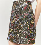 Warehouse, WILD GARDEN JACQUARD SKIRT Multi 4