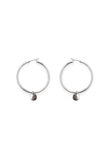Warehouse, HOOP AND DISC EARRINGS Gold Colour 0