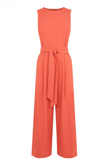 Warehouse, OPEN BACK JUMPSUIT Coral 0