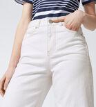 Warehouse, Super Wide Cut Jeans White 1